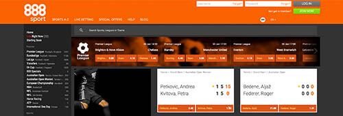 888sport Betting Site