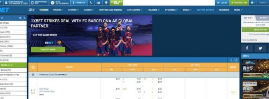 1Xbet Betting Site