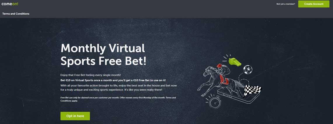 Comeon Betting Site