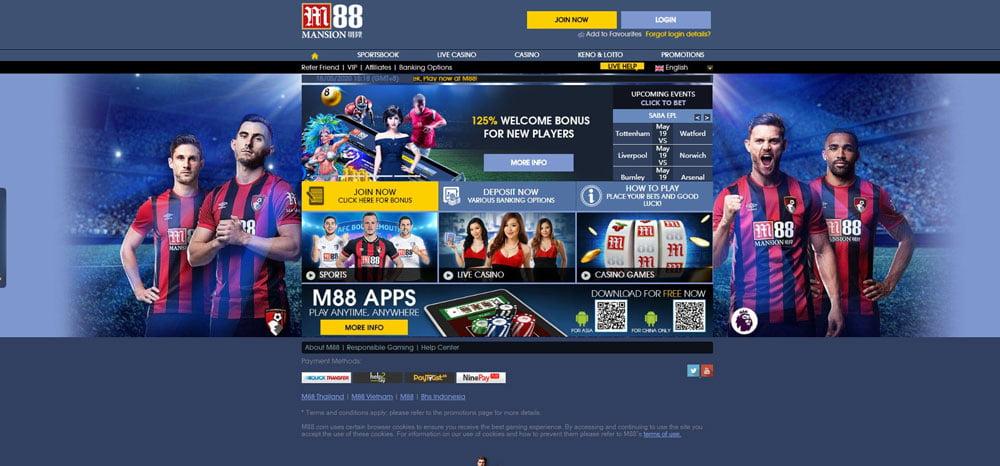 M88 Betting Site