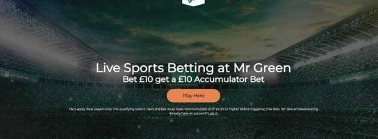 Mr green Betting Site