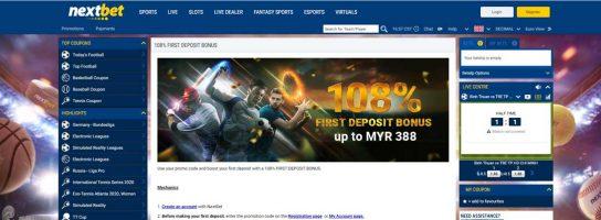 Nextbet Betting Site